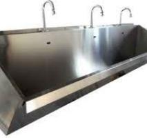 Lavatório cirúrgico aço inox