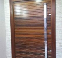 Puxador de porta em inox